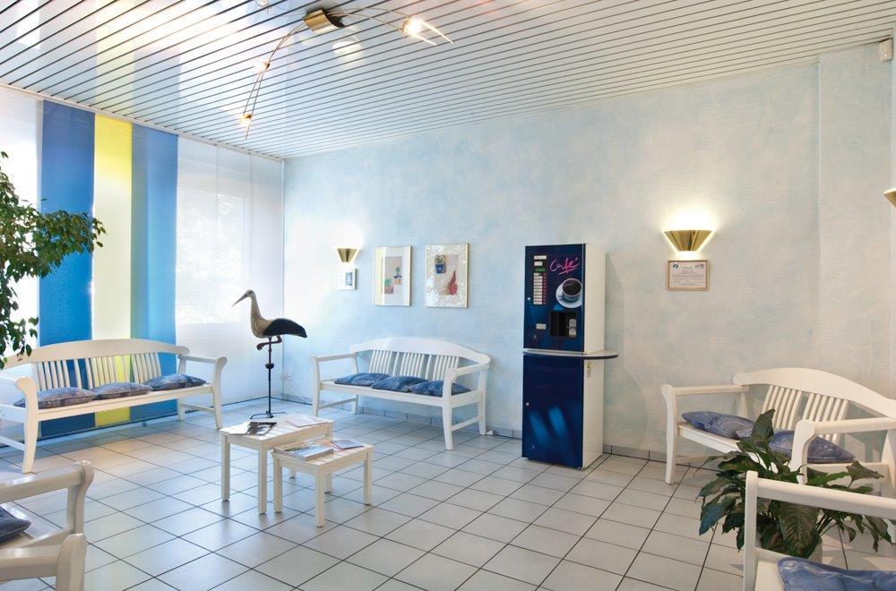 зал ожидания в Центре репродуктивной медицины – Эрланген